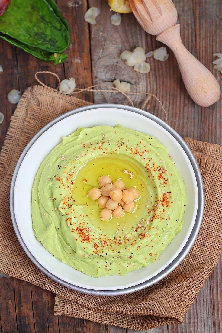 Houmous à l'avocat. Laissez vous séduire par ce Houmous express au couleur verdoyante !. La recette par délices.