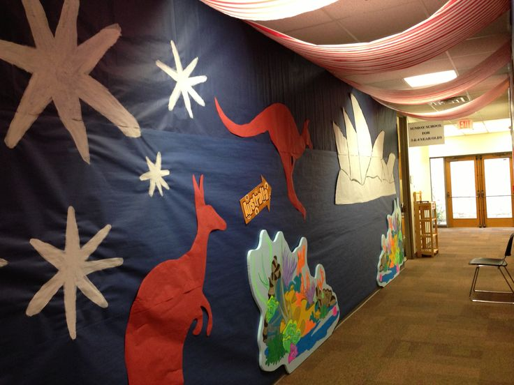 1000 images about vacation bible school australia on for Australian decoration ideas