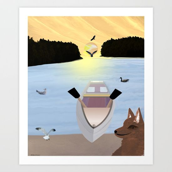 Collect your choice of gallery quality Giclée, or fine art prints custom trimmed by hand in a variety of sizes with a white border for framing.  https://society6.com/product/come-on-boy563485_print?curator=listenleemarie