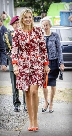 Tutti i look della regina Maxima