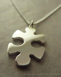 Sterling silver missing piece of the puzzle