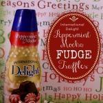 Peppermint Mocha Fudge Truffles Recipe | Cooking-drinks | Pinterest