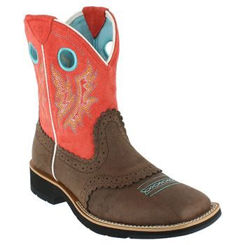 Ariat Women's Fatbaby Cowgirl Western Boots - love these colors!