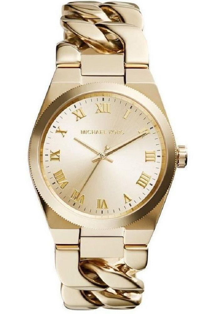 MICHAEL KORS CHANNING WOMEN'S WATCH MK3393 Brand MICHAEL KORS Model mk-MK3393 Gender Female Movement Quartz Case Color GOLD TONE Case Shape ROUND Case BackMater