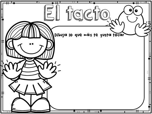 Material Educativo De Los Cinco Sentidos Para Imprimir Los Cinco Sentidos En Preescolar Los Sentidos Para Ninos Cuerpo Humano Para Ninos