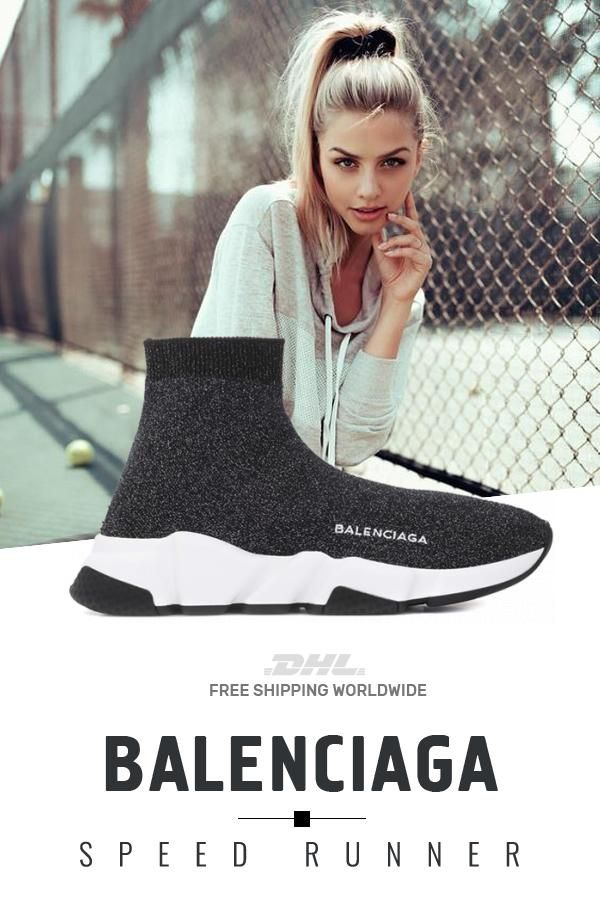 New Balenciaga Speed Trainers Mid Gray At Online Store