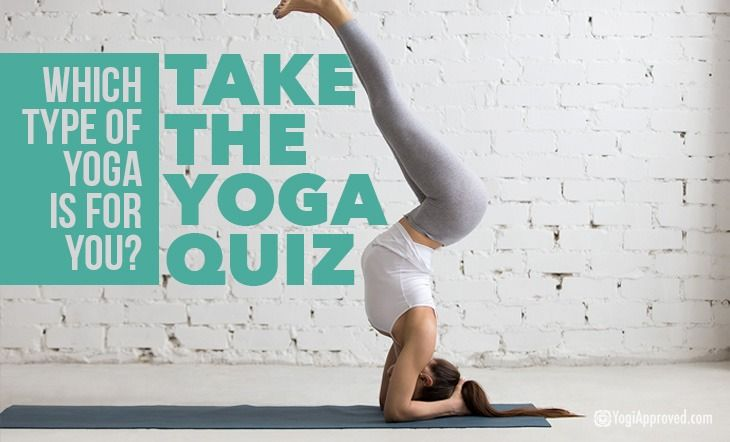who should yoga quiz