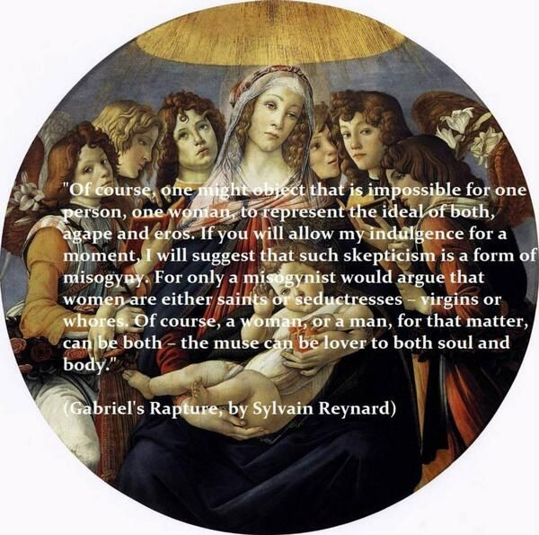 RT @ReSB76: @taraleigh2020 @Sylvain Reynard @Argyle_Empire I absolutely love this quote from Gabriel's Rapture. http://twitter.com/ReSB76/status/429334509373243394/photo/1