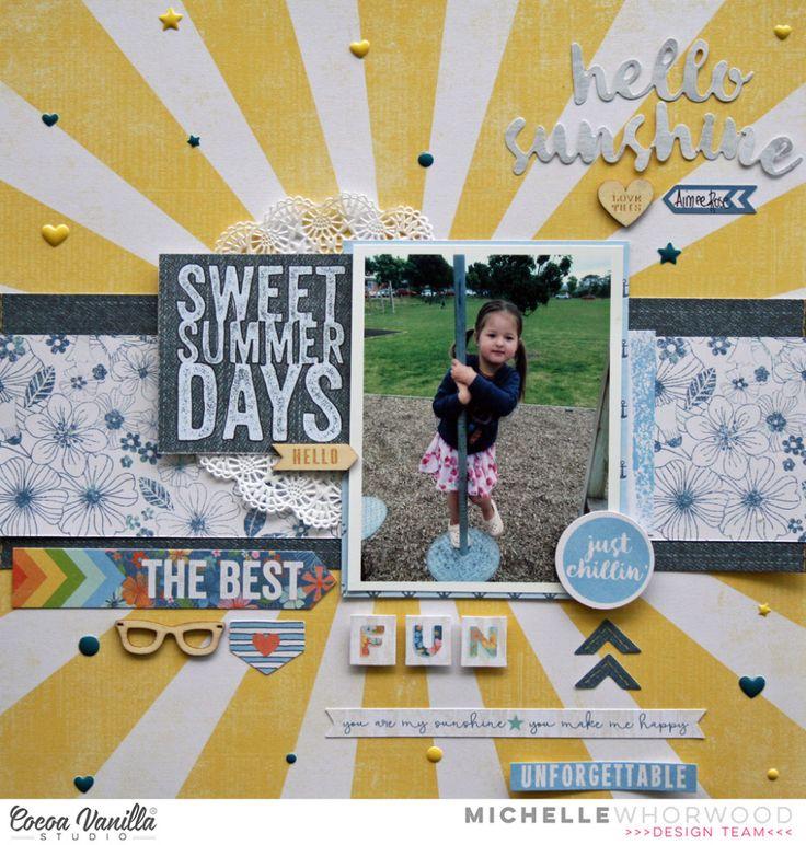 The Best Fun | Hello Sunshine | Michelle Whorwood | Cocoa Vanilla Studio