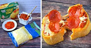 Bring Back Childhood Memories With This Simple, 4-Ingredient Toast Pizza Recipe