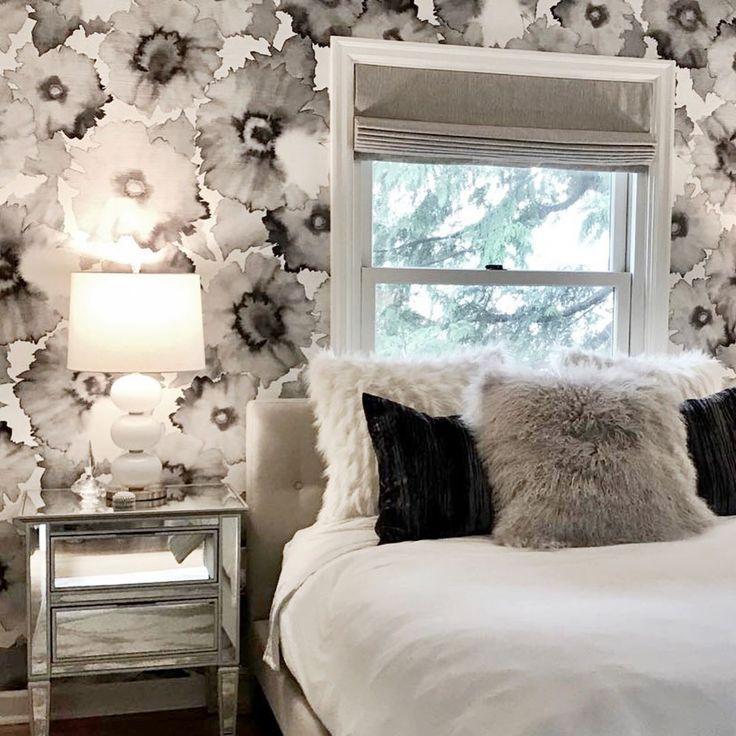 Philip Jeffries Bloom Wallpaper | New room, Philip ...