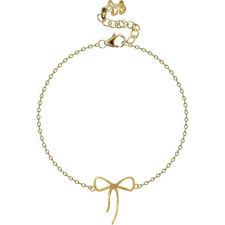 Tied-up Bow Bracelet in Plated Gold $114NZD  http://www.agatha.co.nz/agatha-paris-bracelets.html