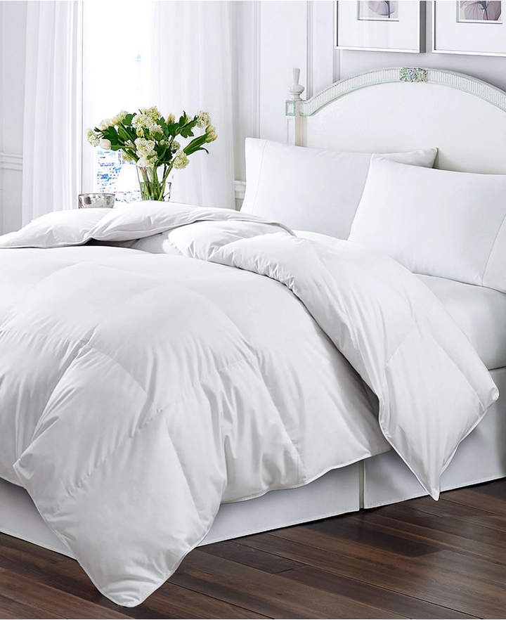 Blue Ridge Kathy Ireland Home Essentials White Feather Down Full Queen Comforter Comforters Down Comforter Kathy Ireland