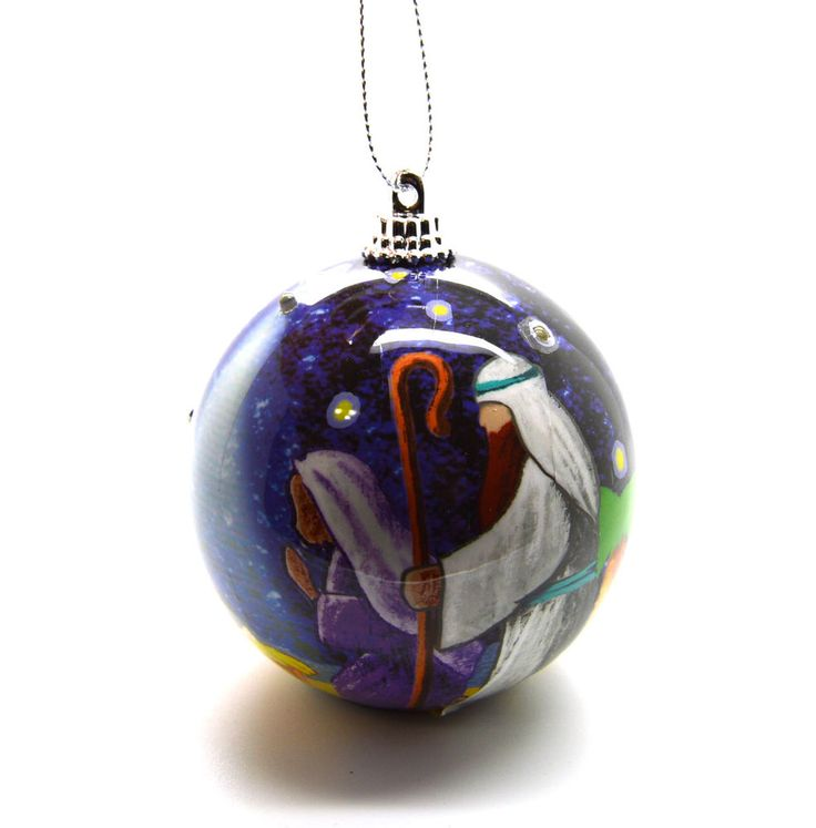 Nativity At Night Glass Ball Religious Christmas Ornament: 816 Best Images About Nativity TREE ORNAMENTS On Pinterest