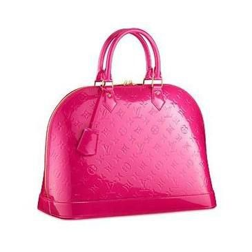 Louis Vuitton Hot Pink Patent: Louisvuitton, Fashion, Style, Louis Vuitton Monogram, Purse, Alma Mm, Louis Vuitton Handbags, St. Louis