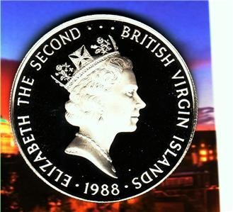 Bu Gem 1988 British Islands $25.00 Proof coin: Ebay Free, 1988 British, Gem 1988, Free S H, Islands 25 00, 25 00 Proof, British Islands, Bu Gem