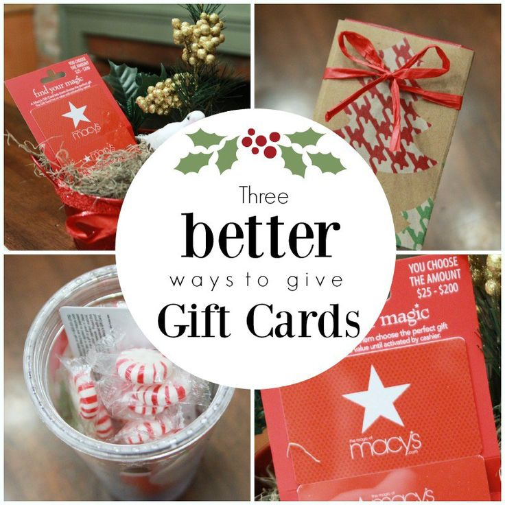 1000+ Images About Wrap Your Gift Card In Style On