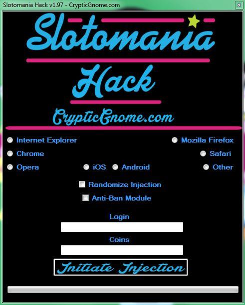 Slotomania Hack