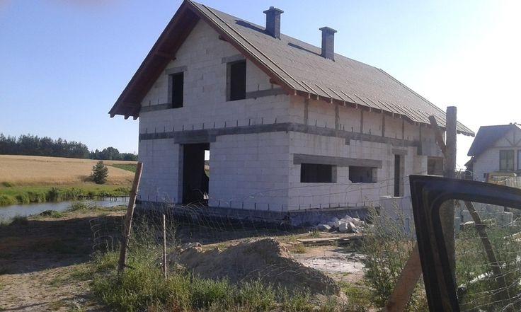 Zdjęcie opublikowane 29 lipiec 2015 przez joasiac1985 we wpisie: DACH, etap budowy: Dach na blogu: DOM POD FIGOWCEM - http://archon.pl/blogi/879/dom-pod-figowcem/915/dach