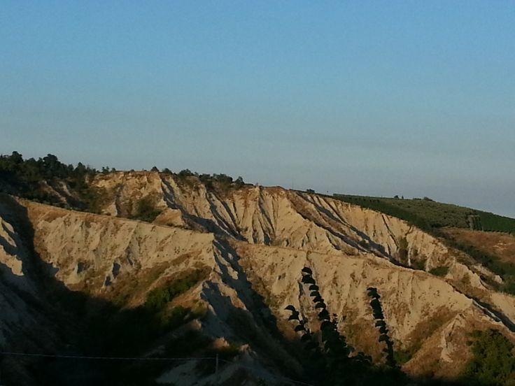 I calanchi del Parco della vena del gesso. Photo credit: @GloriaPorcinai