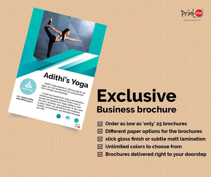 Check out brilliant #BusinessBrochures with a range of colors and variations, only from #PrintStop! Visit  https://www.printstop.co.in/brochures/?utm_source=facebook&utm_medium=product&utm_campaign=printstop&utm_term=online%20printing&utm_content=brochure to browse our unique designs.