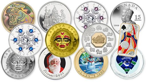 Some cool coins from the Canadian Mint