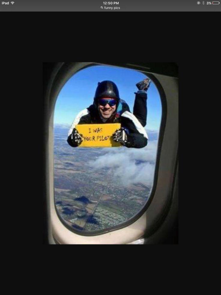 He was ur pilot