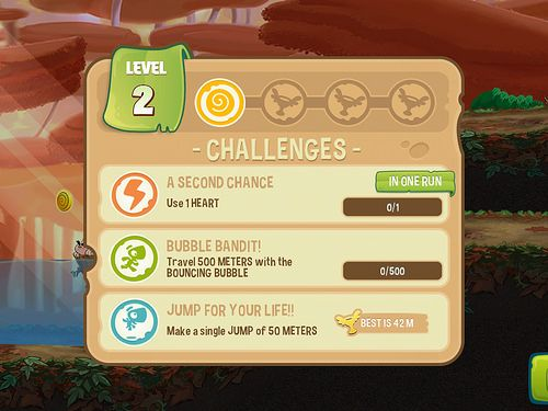 Mission challenge games ui ux mobile