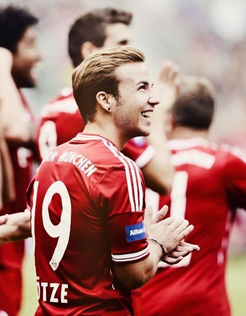 Mario Götze: I've never been so interested in soccer