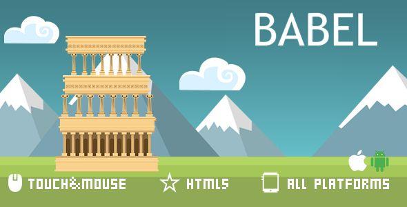 BABLE -HTML5 GAME . Mobile platform optimization!