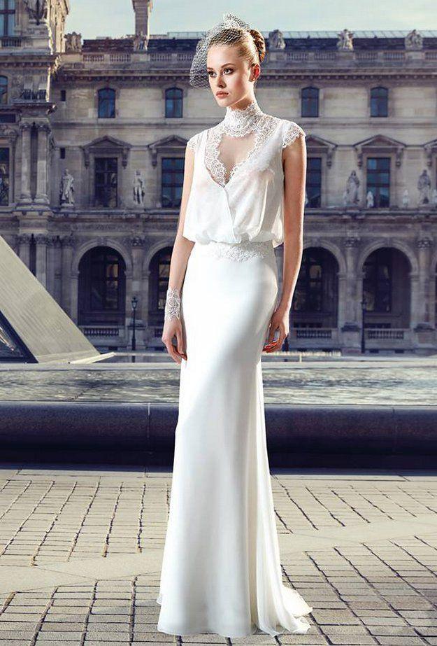 La robe de mariée Deschanel issue de la collection 2017 de Pronuptia