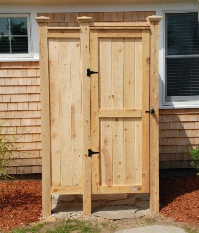 Outdoor Showers At Home Depot With Images Outdoor Shower Kits
