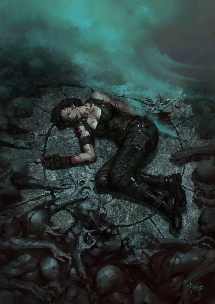 ArtStation - Death of Alice---Resident Evil, Bayard Wu
