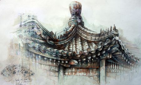 The Pagoda in the Summer Palace » Ian Murphy Paintings