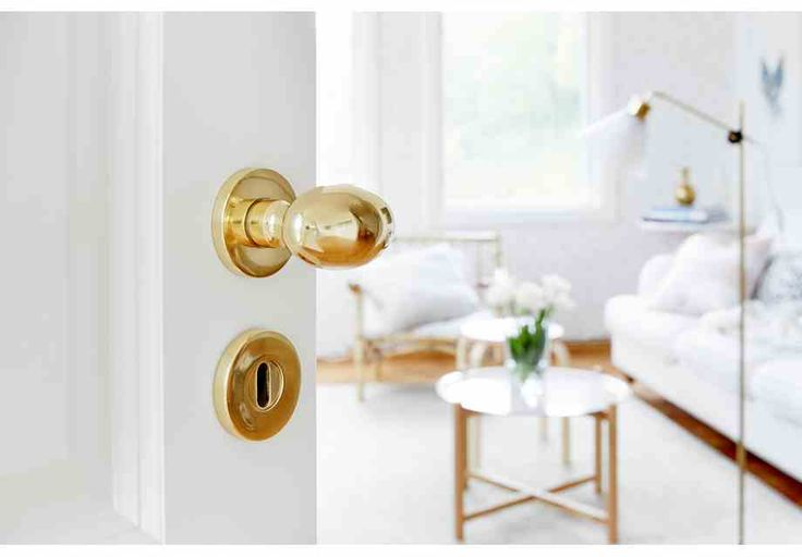 Dörrhandtag A79 inkl. nyckelskylt