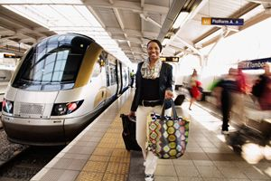 Gauteng Tourism shoot in the beautiful Johannesburg. This was taken at Gautrain - shot by Avo Photography