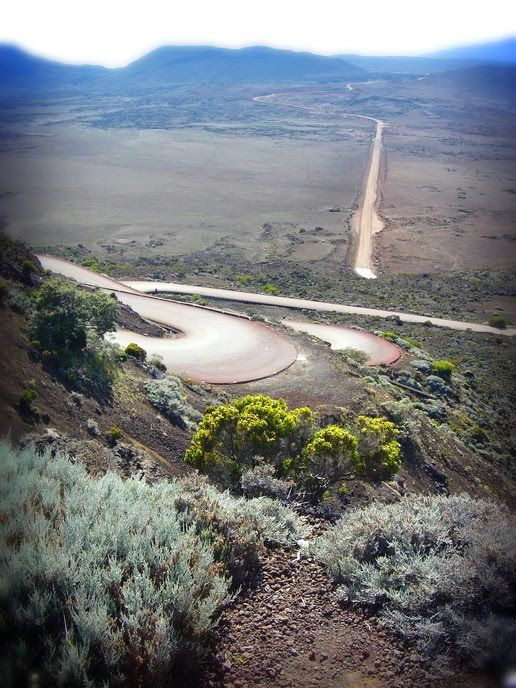 LA REUNION - Plaine des sables. One of the most 'outer-worldly' places I've been. Bleak, desolate but stunning.
