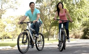 Groupon - Two-Hour or All-Day Rental of One or Two Bikes from Central Park Bike Tours (Up to 53% Off) in Clinton. Groupon deal price: $10