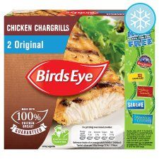 Birds Eye 2 Original Chicken Chargrills 170G - Groceries - Tesco Groceries - 3 SYNS EACH