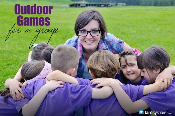 Outdoor games for a group