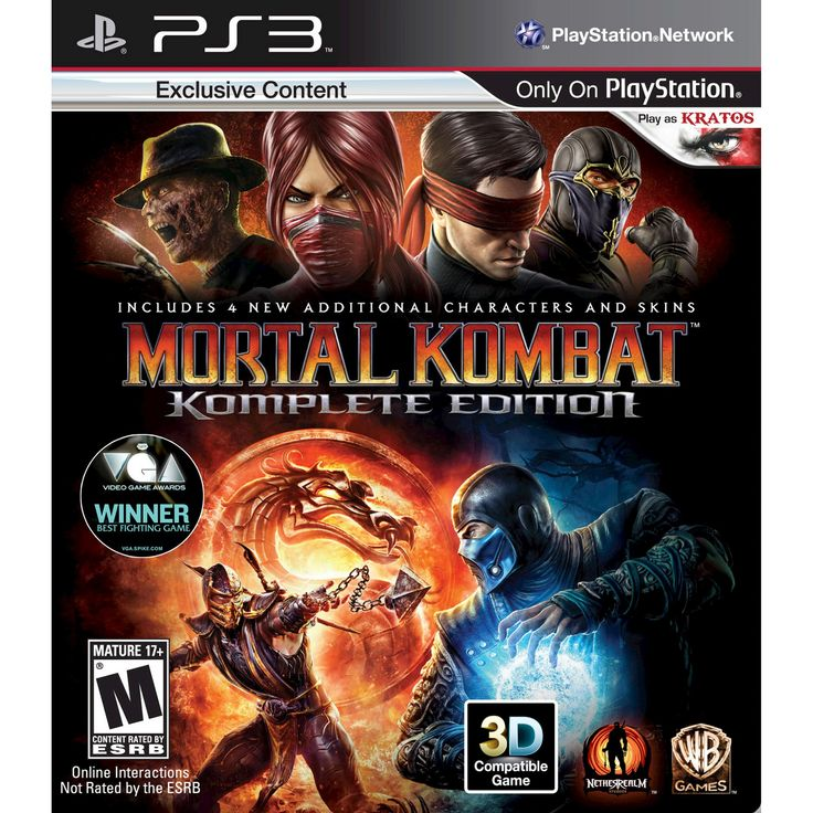 Mortal Kombat: Komplete Edition PlayStation 3