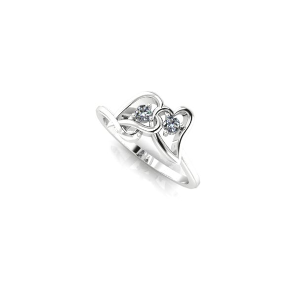 Hearts Entwined #PromiseRings #GiftsShe'llLove #GreenfieldJewelers