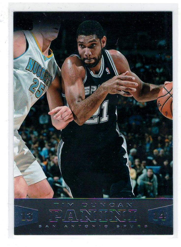 Sports Cards Basketball – 2013-14 Panini  Tim Duncan