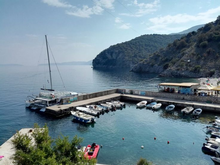 Insel Cres Hafen
