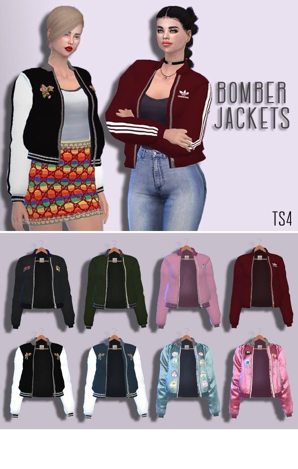 Bomber Jackets Female Accessory, Ring Teen - Young - Adult - Elder HQ Mod compatible You need the mesh too Retextured by me DOWNLOAD! (Sim File Share) DOWNLOAD! (Mediafire)