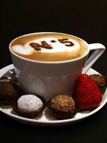 Chocolate @ No 5, Hahndorf, Adelaide Hills, South Australia - signature capuccino