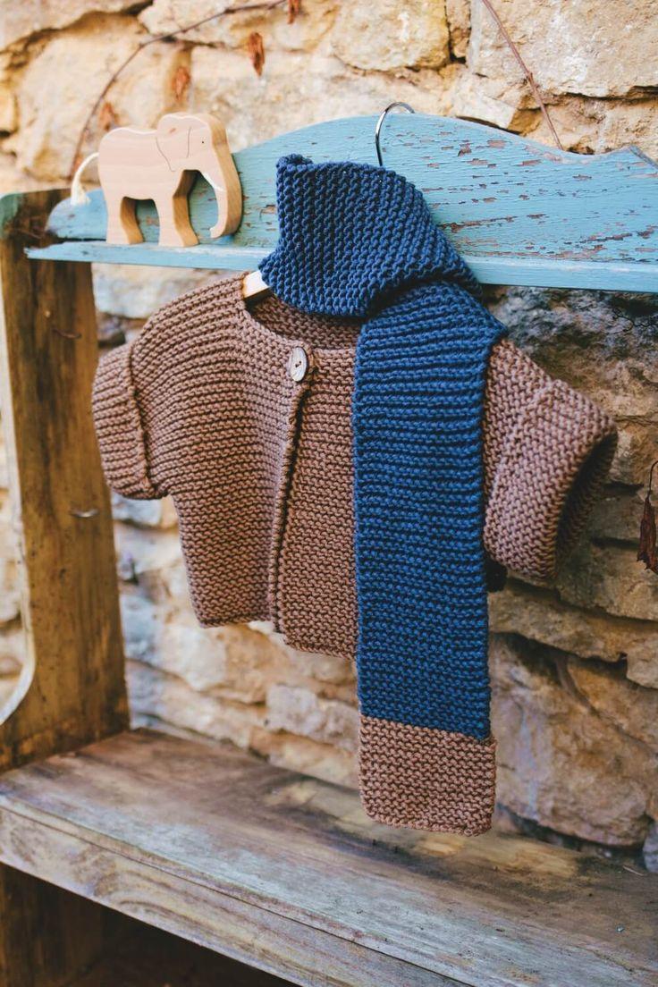 Baby-Jacke mit kurzen Ärmeln