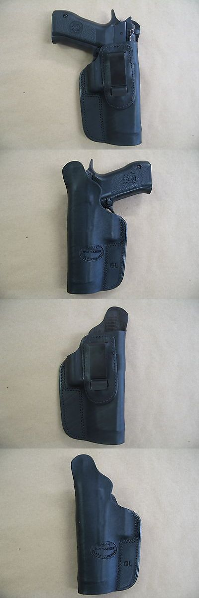 Holsters 177885: Cz 75 Shadow Iwb Leather In Waistband Conceal Carry Holster Black Rh -> BUY IT NOW ONLY: $39.95 on eBay!