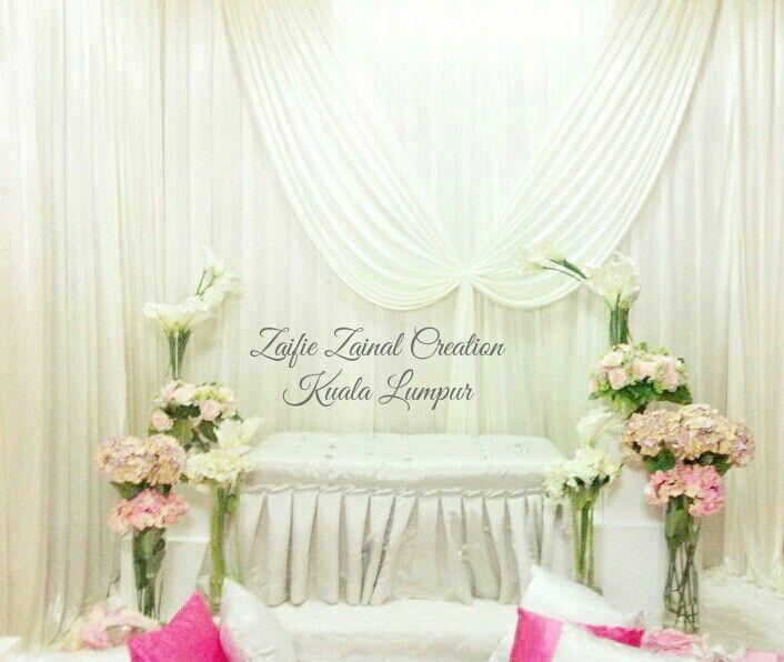 Wedding Nikah Simple Backdrop Decoration Muslim: Best 117 Pelamin Images On Pinterest