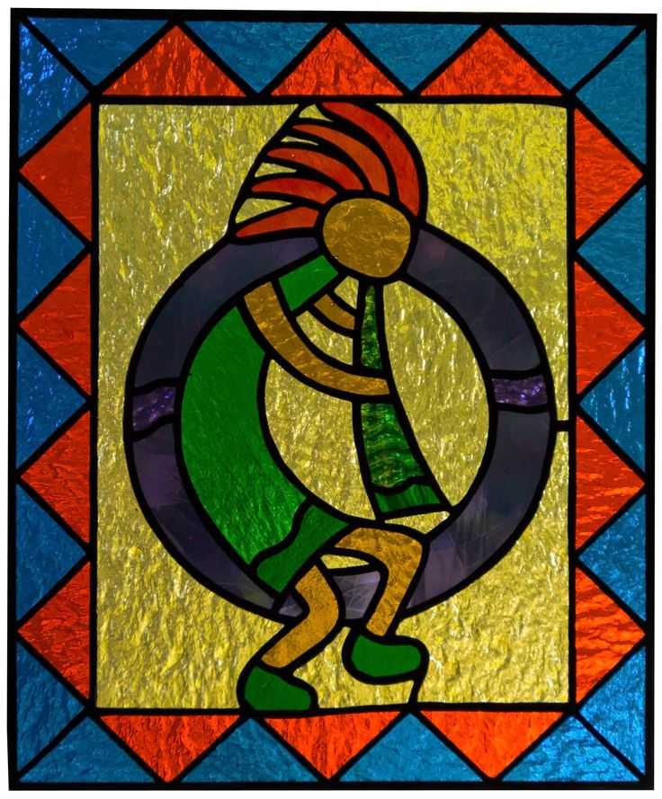 17 Best Images About Stained Glass Kokopelli On
